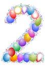 ballon 2 chiffre 2
