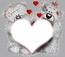 ourson coeur