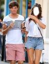 Louis et sa petite copine