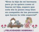 Cumpleaños Sobrina