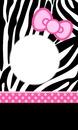 hello kitty zebre