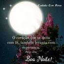 """Boa Noite e Sonhe Lindo! By""""Maria Ribeiro"""""""