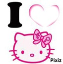 coeur de hello kitty