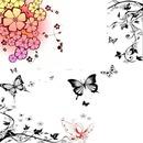 cadre florale yoyo