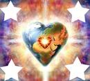 la terre en forme de coeur 4 photos