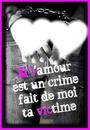 L'amour et un crime fais de moi ta victime