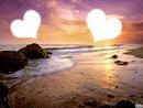 l'amour a la plage