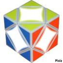 cube avec couleur