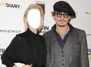 Avec Johnny Depp