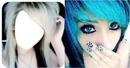 la belle blonde avec la belle bleu