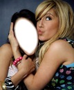 me & ashley TISDALE