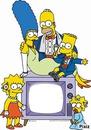 les simpsons télé