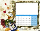 CALENDRIER PICSOU NOVEMBRE 2013
