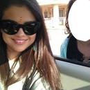 With Selena Gomez