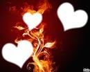 coeur bruler