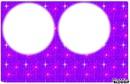 cadre deux rond