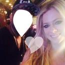 Avril Lavigne and One friend