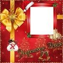 1 photo joyeuses fêtes Noël iena