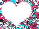 coração de bichinhos