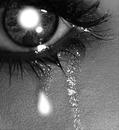 La larme de la tristesse