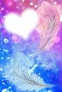 Plume coeur