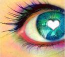 L'amour dans les yeux