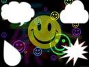 smiley couleur