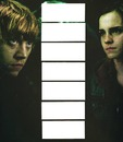 Harry Potter Ron y hermione collage