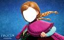 Face da Anna de FROZEN