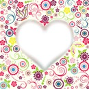 Herz mit Blumen