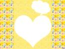 un corazon amarillo