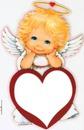 anjinho com coração