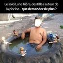 humour piscine
