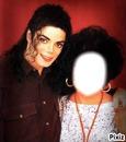 Michael Jackson et Elisabeth Taylor