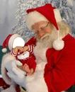 bébé et Père Noël