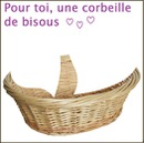 corbeille bisous