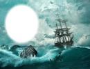 Bateau-voilier-tempête