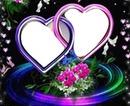 coeur 2 photos
