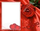 cadre love st valentin