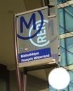Totem de La Station de Métro Bilbliothèque François Mitterand