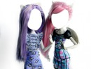 Katrin De Meow and Rochelle Goyle (monster high the dolls)