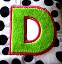 Lettre D-1 photo