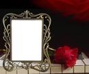 Piano-rose-cadre