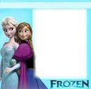 Elsa and Anna Frame