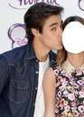violetta,leon,kiss