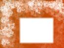 Arrière-plan floral orange