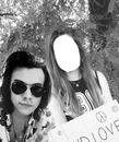 Harry with fan