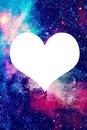 Corazón de galaxia