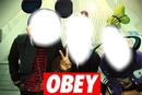 OBEY mickey....