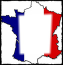 drapeau français carte